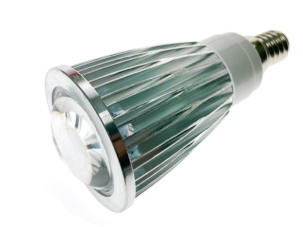 Светодиодная фитолампа Espada Fito E-14L-12-5W 44949 светодиодная фитолампа espada fito led e14 3w 85 265v