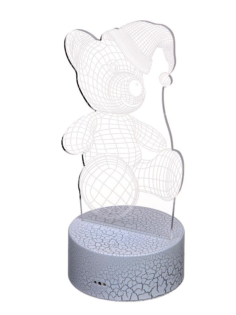 3D лампа Palmexx Медвежонок в шапке LED RGB PX/LAMP-001