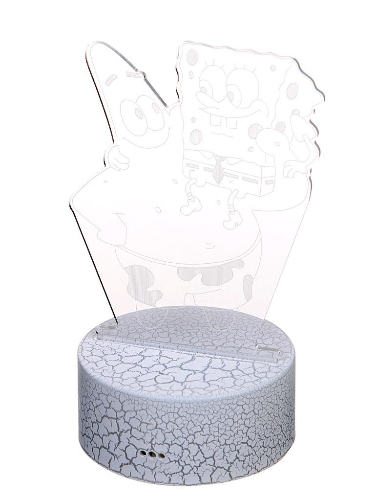 3D лампа Palmexx Спанч Боб и Патрик LED RGB PX/LAMP-003