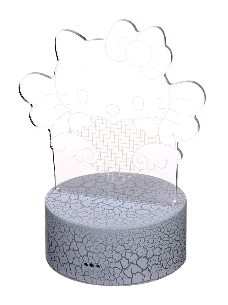 3D лампа Palmexx Хелло Китти LED RGB PX/LAMP-011