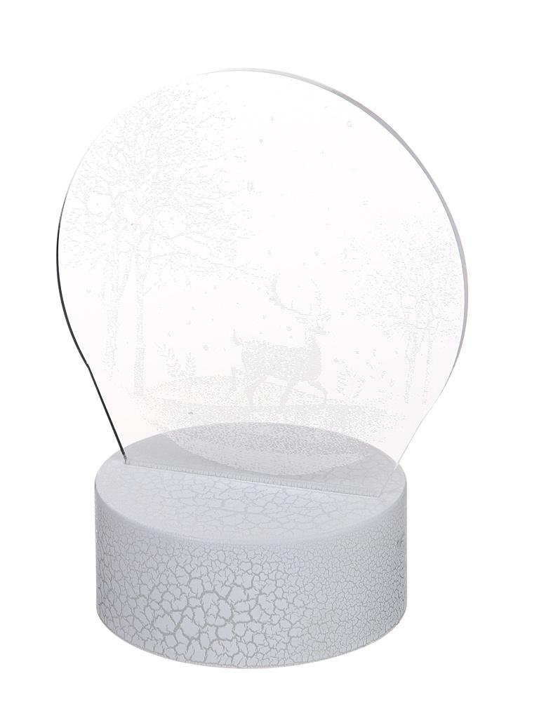 3D лампа Palmexx Олени в ночном лесу LED RGB PX/LAMP-023