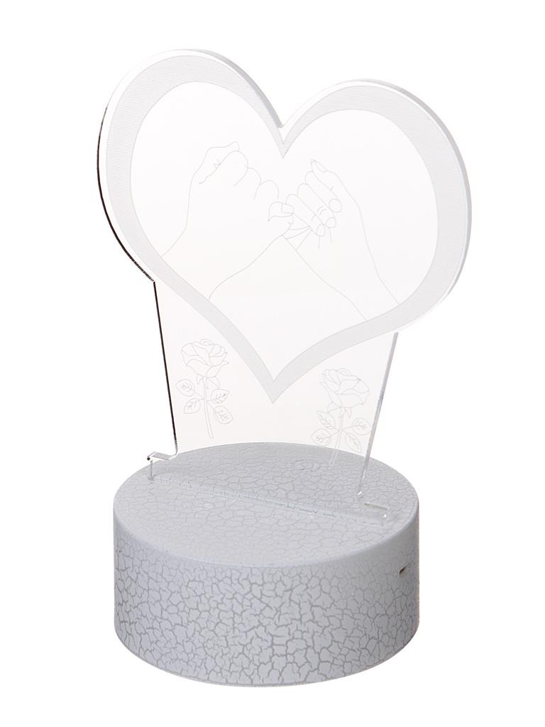 3D лампа Palmexx Сердце LED RGB PX/LAMP-013