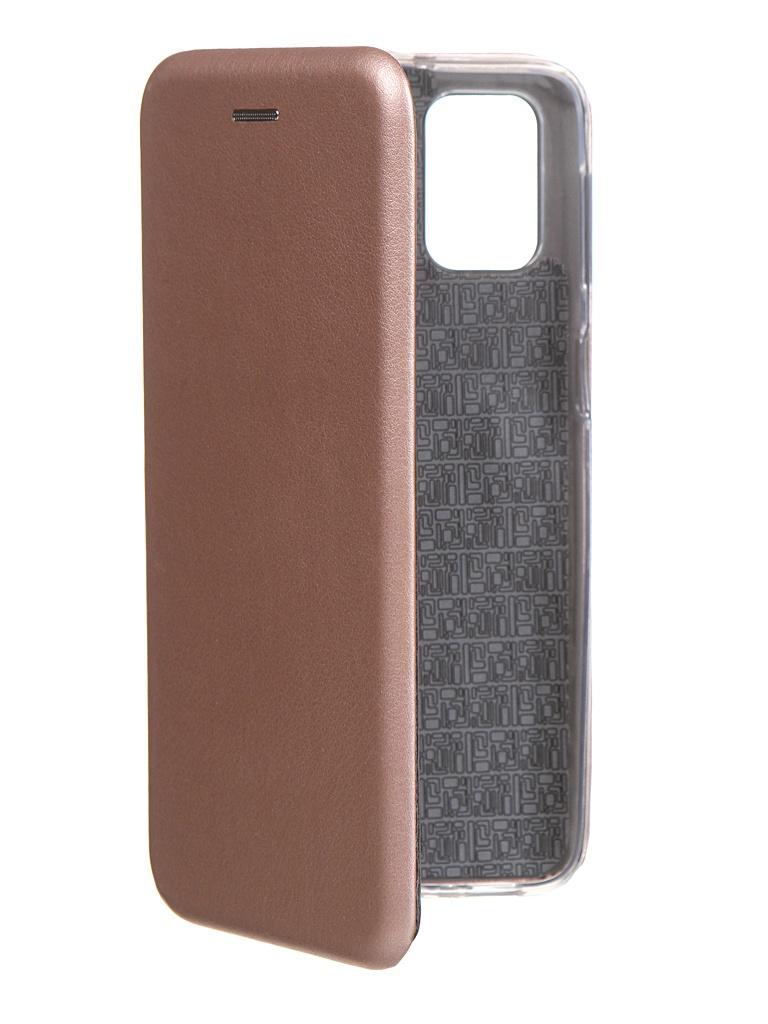 Чехол Innovation для Samsung Galaxy M31S Rose Gold 18596