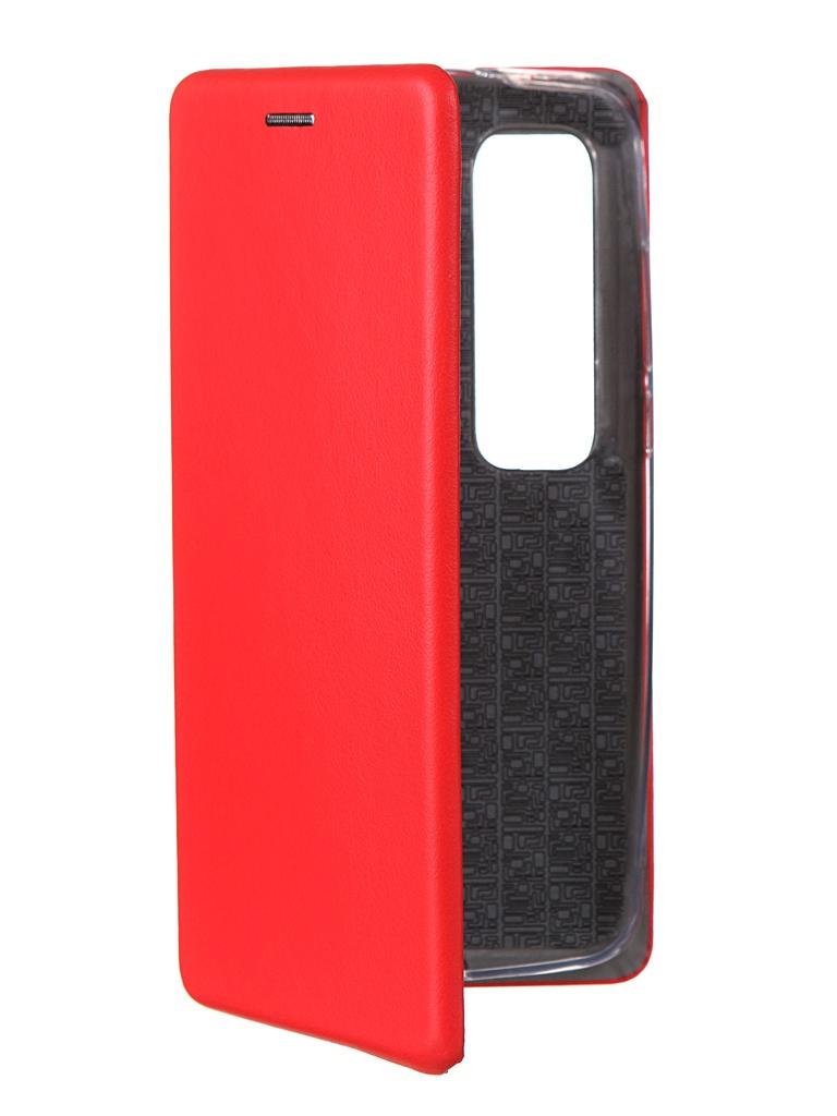 Чехол Innovation для Xiaomi Mi 10 Ultra Red 18611 чехол innovation для xiaomi mi 9se silicone red 15398