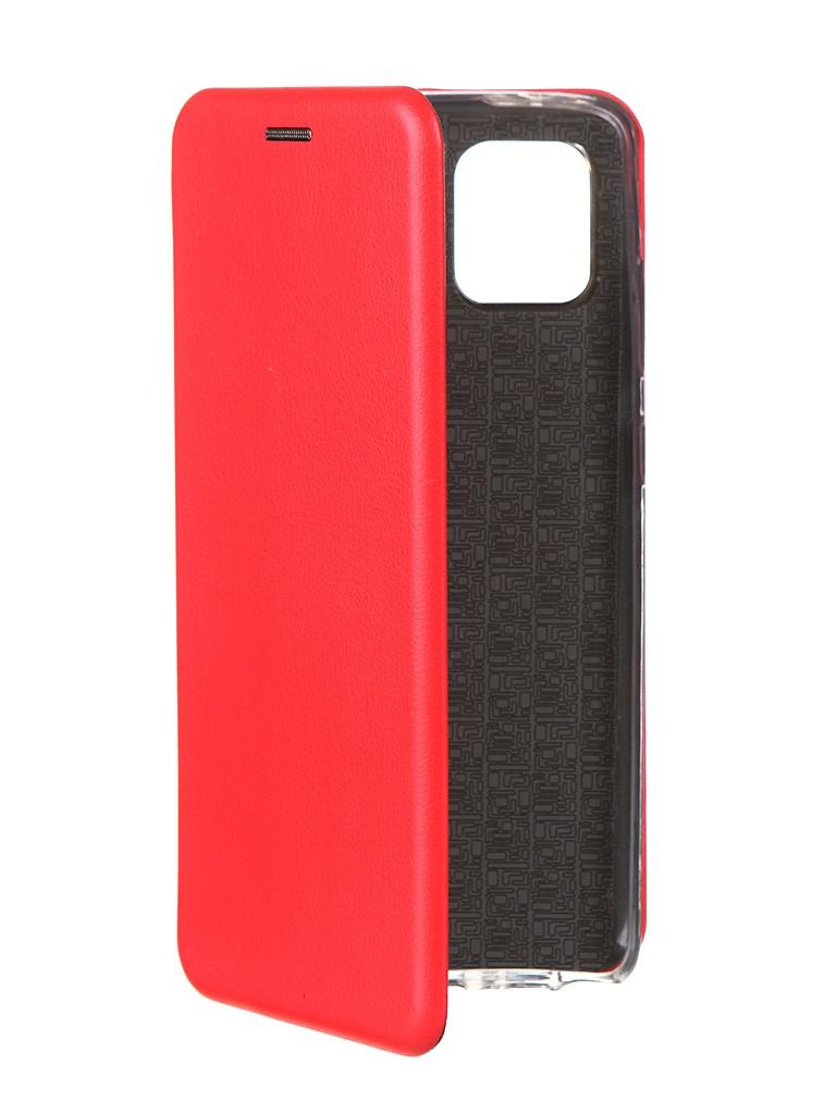 Чехол Innovation для Xiaomi Mi Note 10 Lite Red 18618 чехол innovation для xiaomi mi 9se silicone red 15398