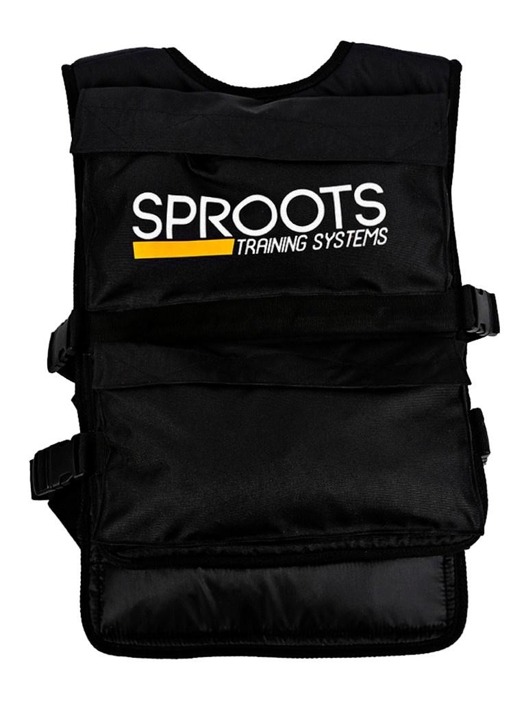 Фото - Утяжелитель 0-20 кг SPROOTS 16960 утяжелитель жилет 0 10 кг sproots 16962 черный