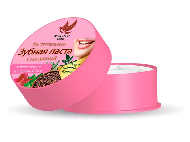 Зубная паста Nokthai Растительная с гвоздикой 0514