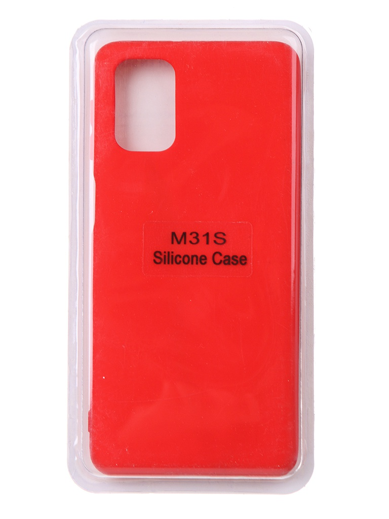 Чехол Innovation для Samsung Galaxy M31S Soft Inside Red 18953