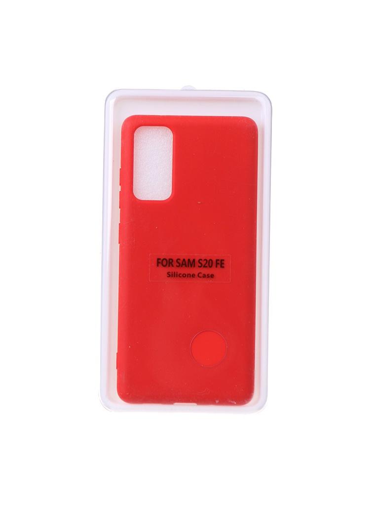 Чехол Innovation для Samsung Galaxy S20 FE Soft Inside Red 18958