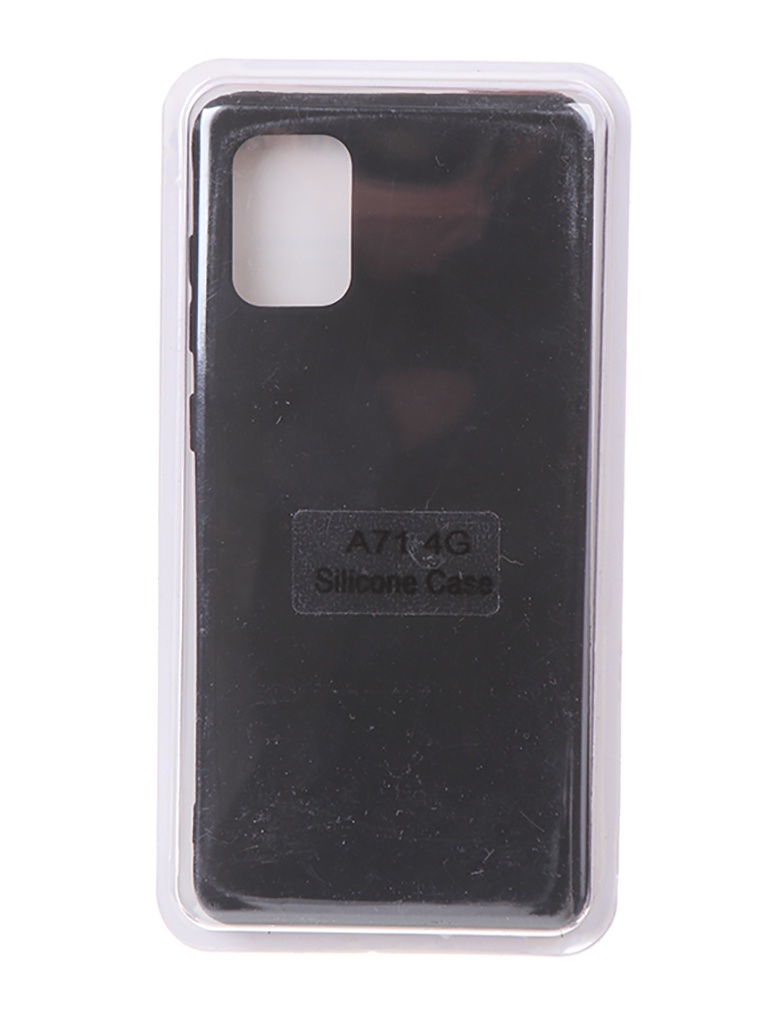 Чехол Innovation для Samsung Galaxy A71 Soft Inside Black 18960