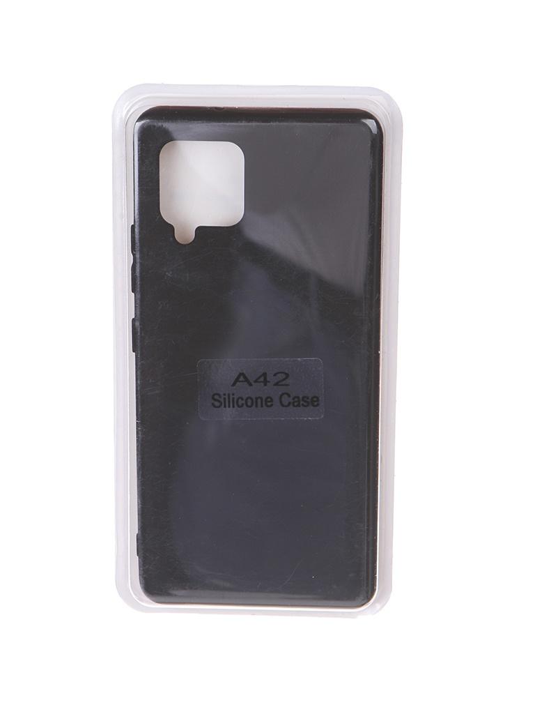 Чехол Innovation для Samsung Galaxy A42 Soft Inside Black 18964