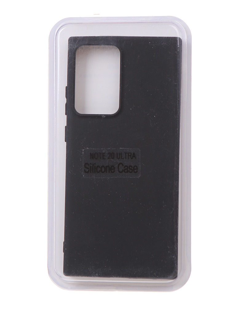 Чехол Innovation для Samsung Galaxy Note 20 Ultra Soft Inside Black 18970