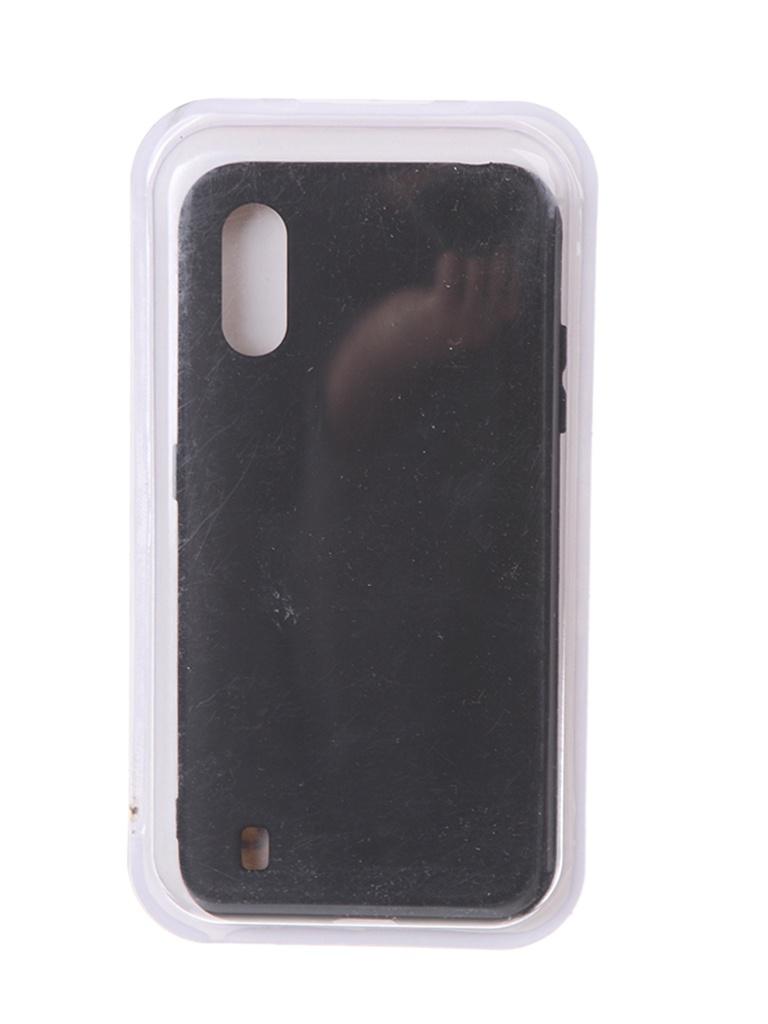 Чехол Innovation для Samsung Galaxy M01 Soft Inside Black 18975