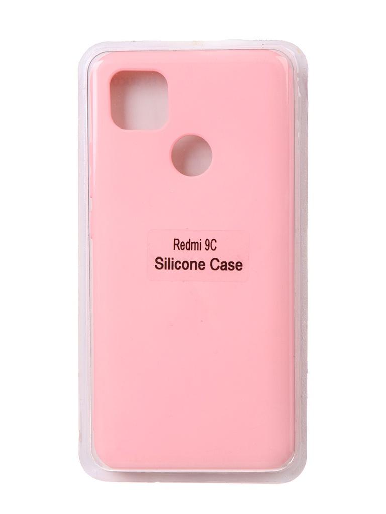 Чехол Innovation для Xiaomi Redmi 9C Soft Inside Pink 18989