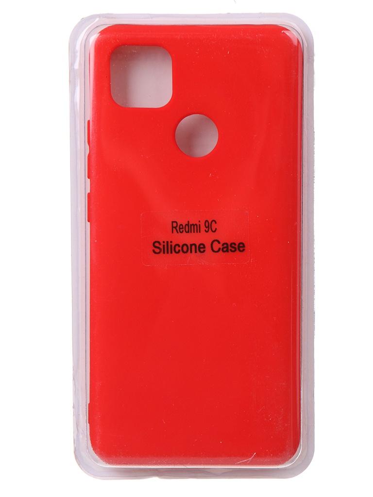 Чехол Innovation для Xiaomi Redmi 9C Soft Inside Red 18992