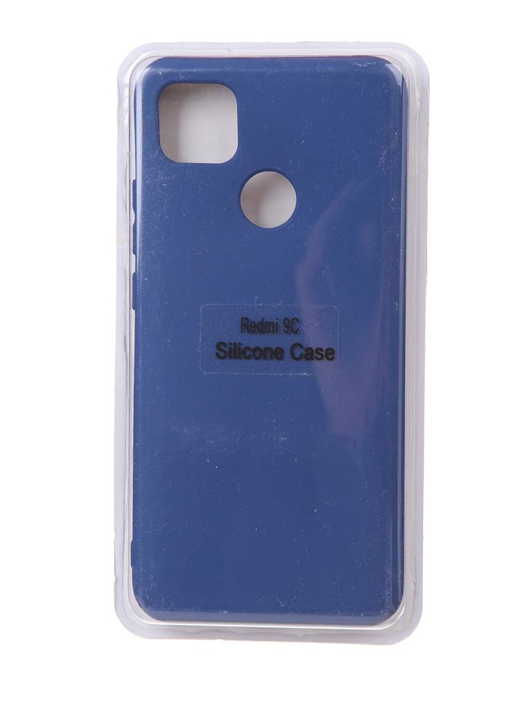 Чехол Innovation для Xiaomi Redmi 9C Soft Inside Blue 18993