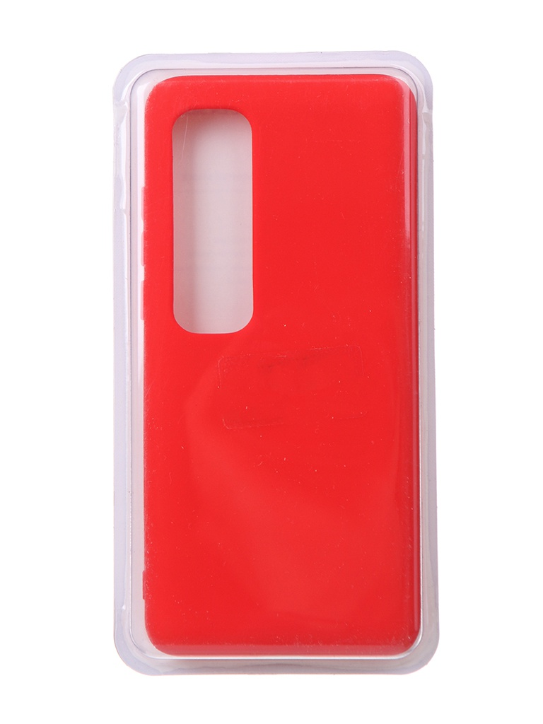 Чехол Innovation для Xiaomi Mi 10 Ultra Soft Inside Red 18997