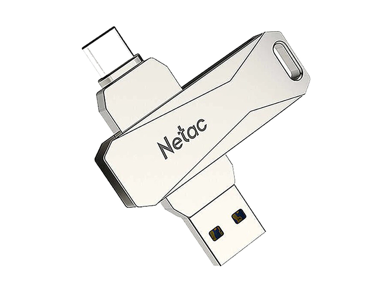 Фото - USB Flash Drive 32Gb - Netac U782C Dual NT03U782C-032G-30PN netac usb drive u278 usb3 0 32gb retail version