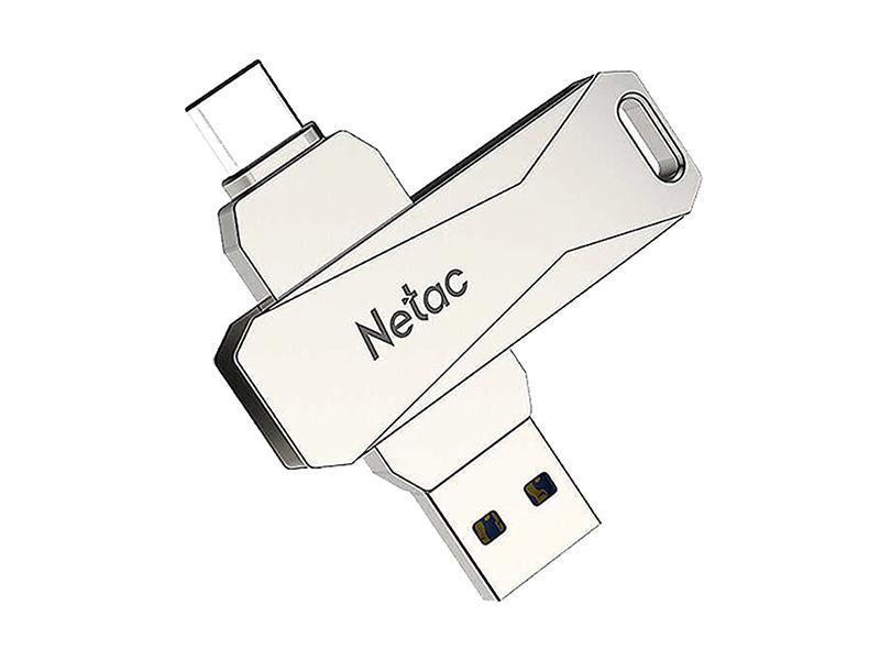 USB Flash Drive 64Gb - Netac U782C Dual NT03U782C-064G-30PN