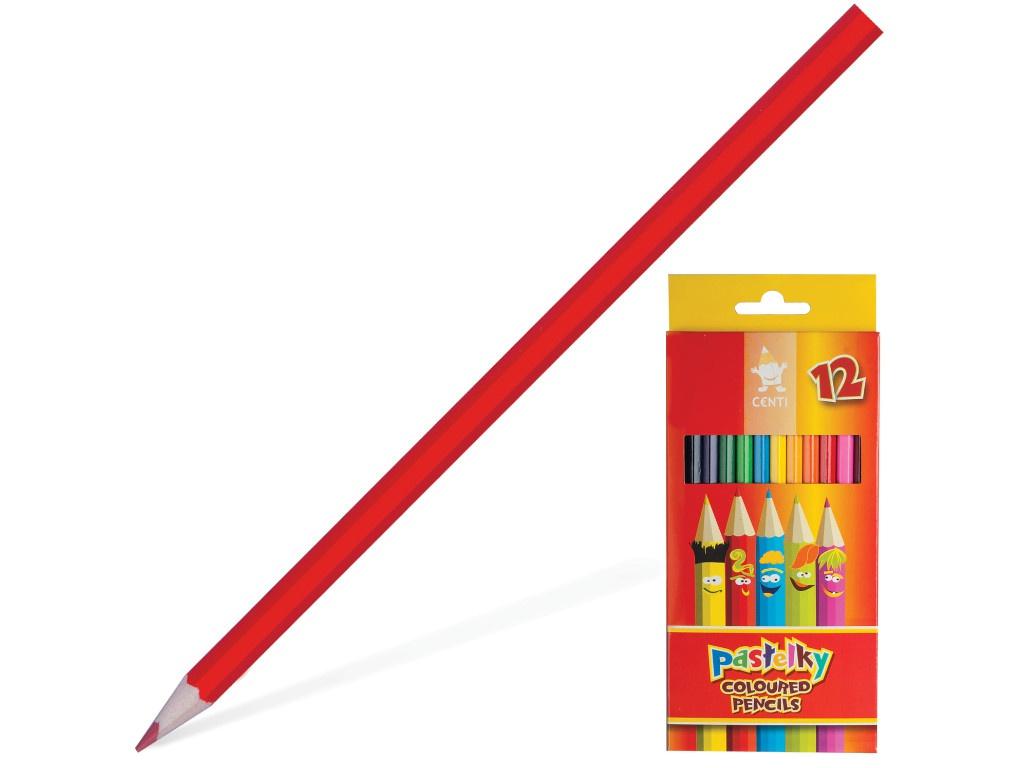 Карандаши цветные Koh-i-Noor Centi 12 цветов 2142012002KS карандаши цветные koh i noor кохинор animal животные набор 18 цветов