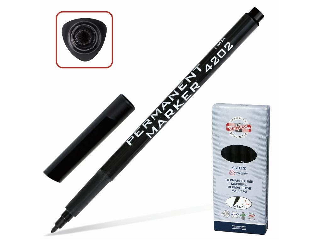 Маркер Koh-i-Noor 1mm Black 7742023801KSRU