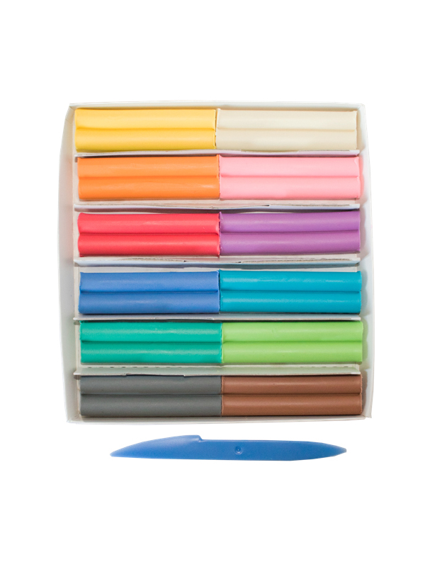 Набор для лепки Луч Пластилин Школа творчества 12 цветов 180g 29С 1771-08