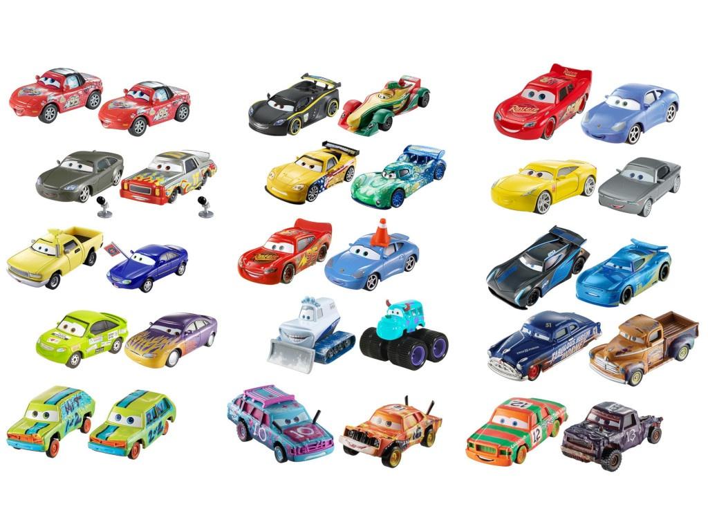 Набор машинок Mattel Cars Тачки 3 2шт DXV99