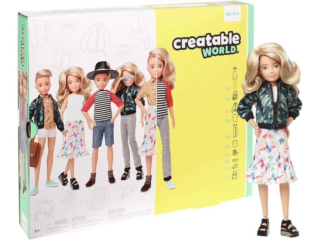 Кукла Mattel Creatable World 5 GGT67