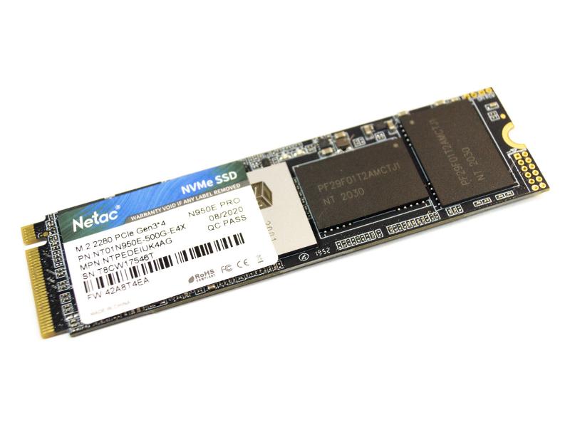 Твердотельный накопитель Netac Series Retail N950E Pro 250Gb NT01N950E-250G-E4X