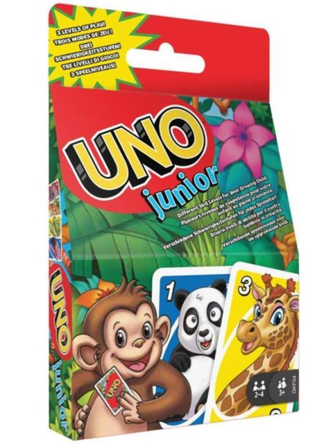 Настольная игра Mattel Uno Junior Refresh GKF04