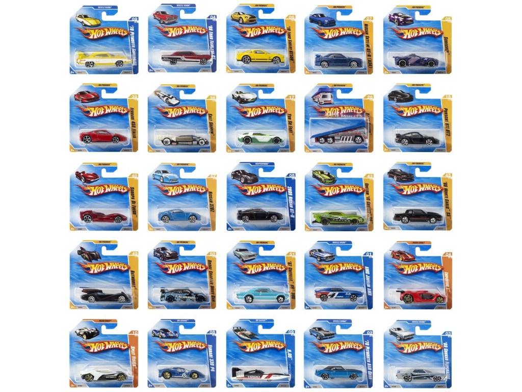 Базовая машинка Mattel Hot Wheels () N3758