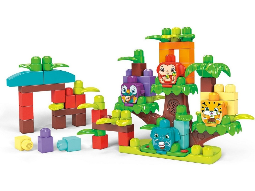 Конструктор Mattel Mega Bloks Джунгли зовут GGG11