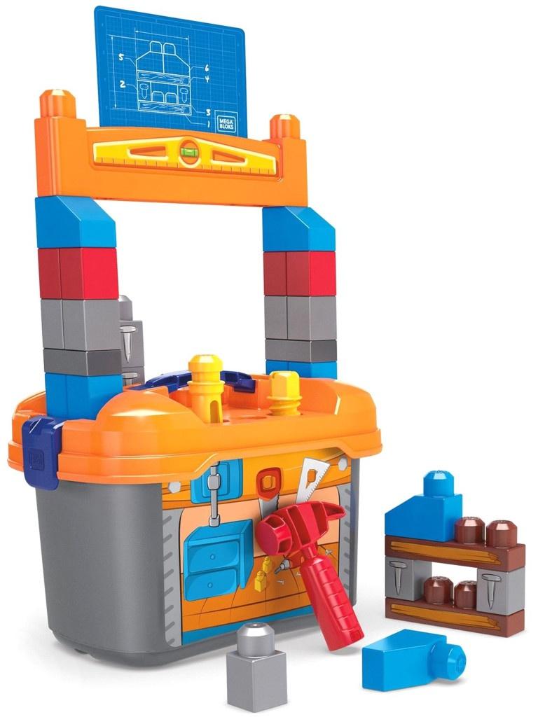 Конструктор Mattel Mega Blocks Рабочее место маленького строителя GNT92