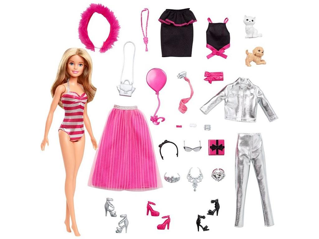 Кукла Mattel Barbie Календарь GFF61