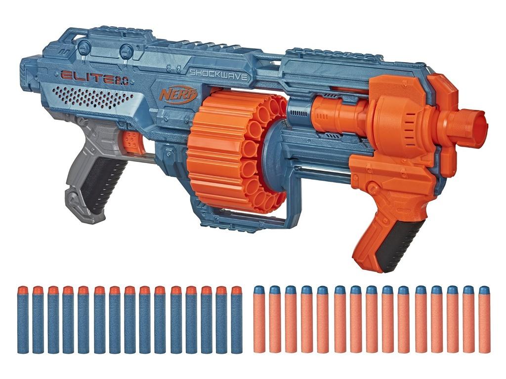 Игрушка Hasbro Бластер Nerf E2.0 Шоквэйв E9527EU4