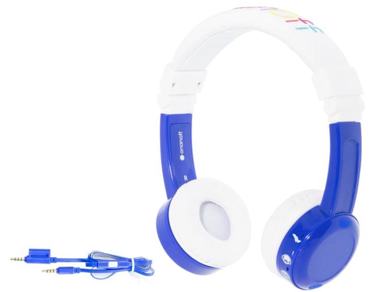 Наушники Onanoff BuddyPhones InFlight BP-IF-BLUE-01-K