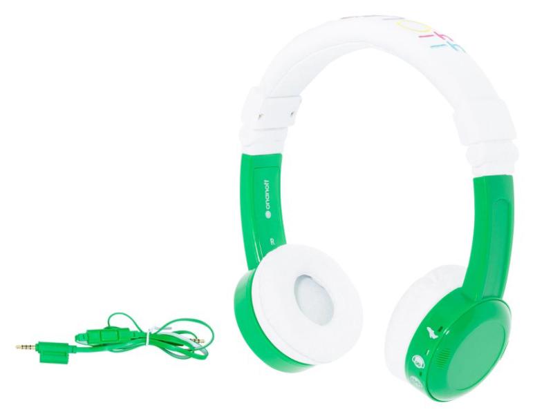 Наушники Onanoff BuddyPhones InFlight BP-IF-GREEN-01-K