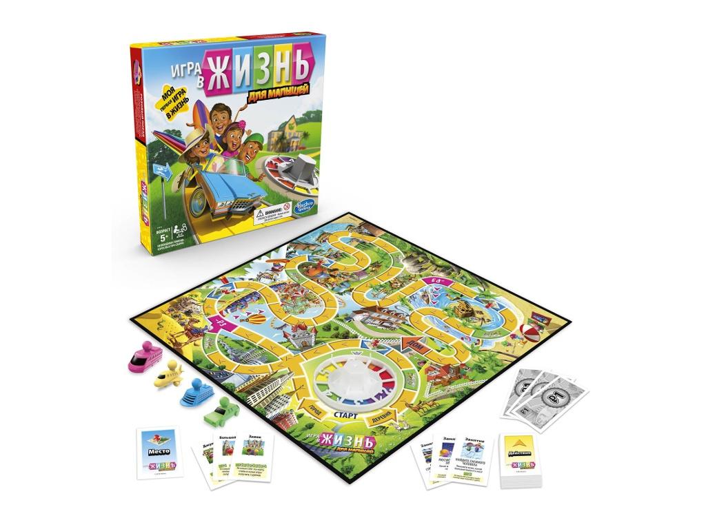 Игрушка Hasbro Junior Игра в жизнь E6678121