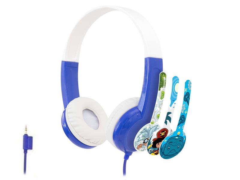 Наушники Onanoff BuddyPhones Discover BP-DIS-BLUE-01-K