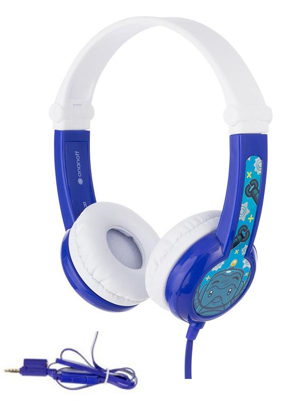 Наушники Onanoff BuddyPhones Connect Foldable BP-CO-BLUE-01-K