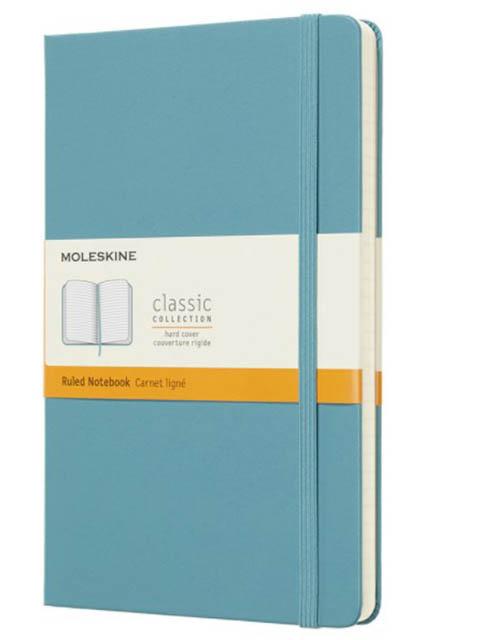 Блокнот Moleskine Classic Large 130х210mm 120 листов Light Blue QP060B35