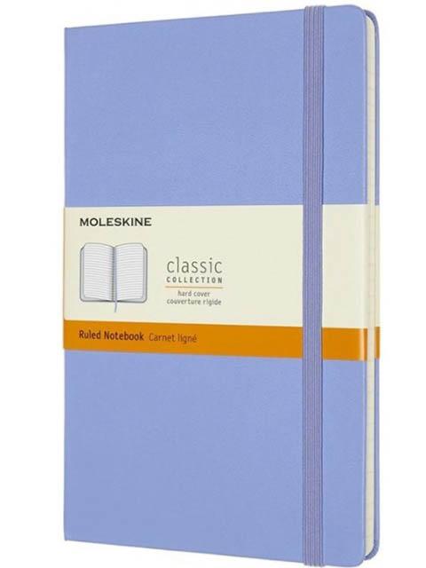 Блокнот Moleskine Classic Large 130х210mm 120 листов Blue Hydrangea QP060B42