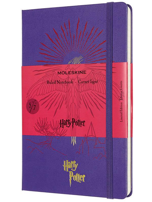 Блокнот Moleskine Le Harry Potter Large 130х210mm 120 листов Purple LEHP02QP060E / 1216442
