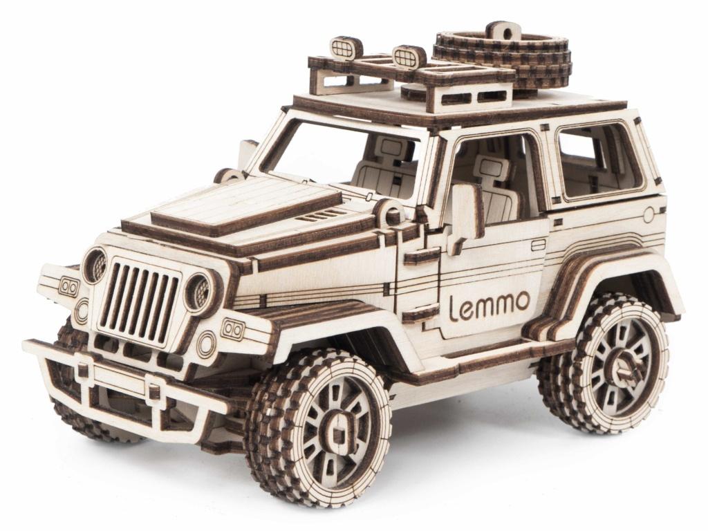 Сборная модель Lemmo Внедорожник Трикс 01-57