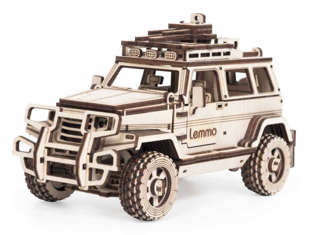 Сборная модель Lemmo Внедорожник Булат 01-58