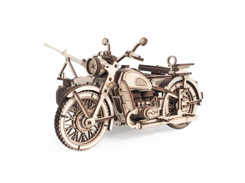 Сборная модель Lemmo Мотоцикл с коляской УРАН 01-59