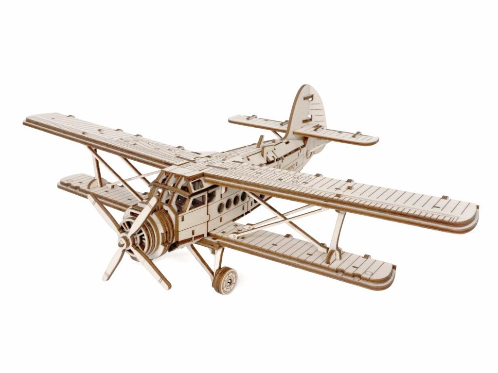 Сборная модель Lemmo Самолет Арлан 01-61