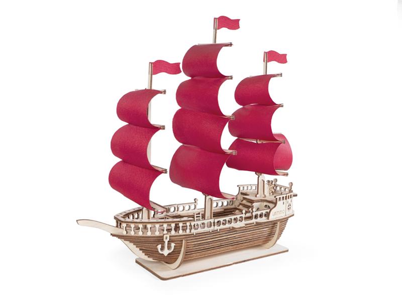 Сборная модель Lemmo Корабль Ламар 01-45