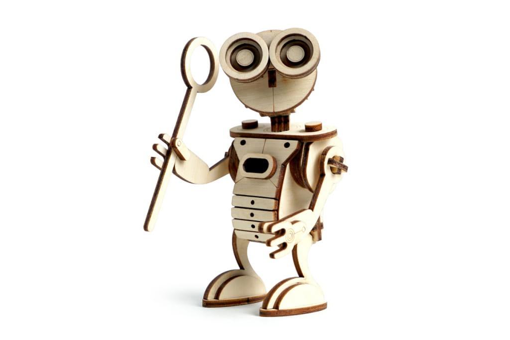 Сборная модель Lemmo Робот САН 00-26