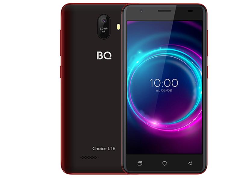 Сотовый телефон BQ 5046L Choice LTE Wine Red сотовый